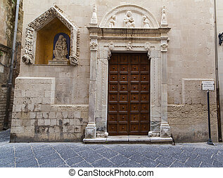 Santa Maria dei miracoli church, Ortigia - Facade of the...