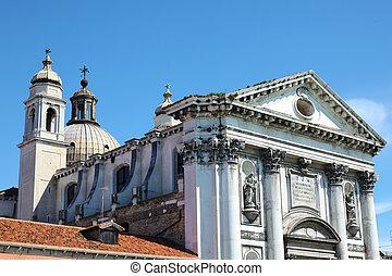 Santa Maria del Rosario Venice - the church Santa Maria del ...