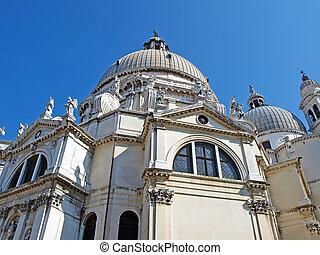 Santa Maria Della Salute. Venice, Italy