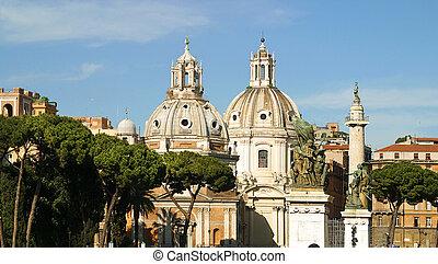 Santa Maria di Loreto Rome Italy
