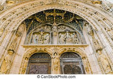 Santa Maria la real detail