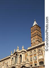 Santa Maria Maggiore in Rome, Italy