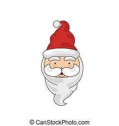 merry chrismas icon - santa merry chrismas icon illustration...