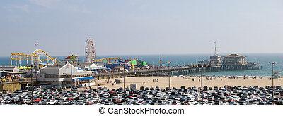 Santa Monica Pier (Palisades Park)