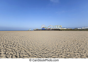 Santa Monica Pleasure Pier beach
