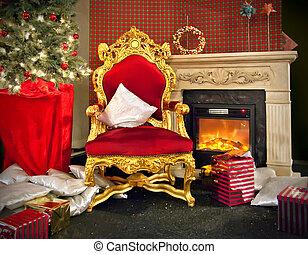 Santa place