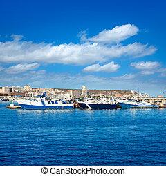 Santa Pola port marina in Alicante Spain