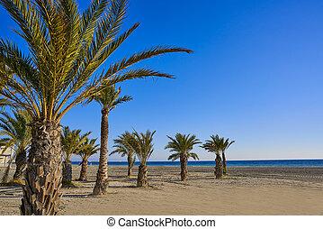 Santa Pola Tamarit beach in Alicante Spain