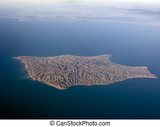 Santa Rosa Island west of Ventura County coast, Channel...