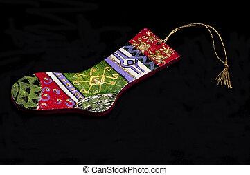 Santa Socks made by ceramic