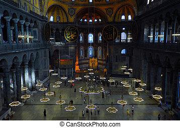 Santa Sofia - Istanbul - details of Santa Sofia in Istanbul