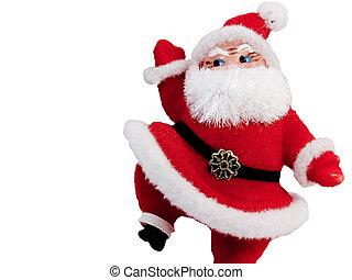 Santa Steps Up