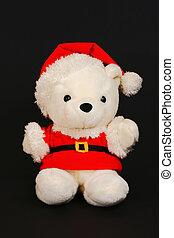 santa teddy bear 2