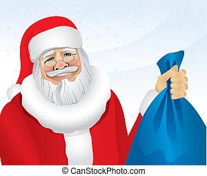 Santa (vector)