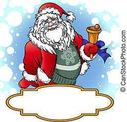 Santa with Bell