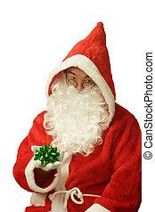 Santa with Gift Loop