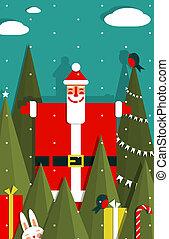 Vector EPS8 graphic christmas illustration.