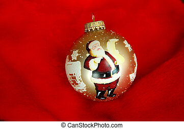 Santa Xmas Ornament