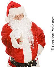 Santa - You Are Naughty