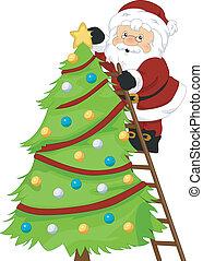 Santa's Christmas Tree