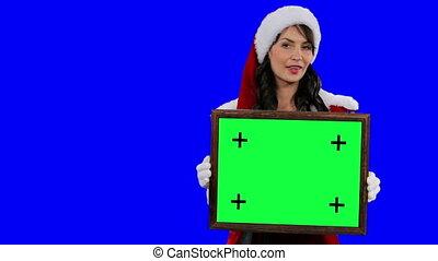 Santa's helper frame for tracking
