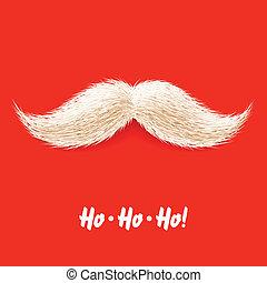 Santa's mustache