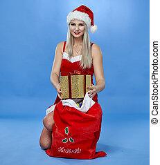 Santa's pretty helper