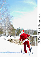 Santa?s route