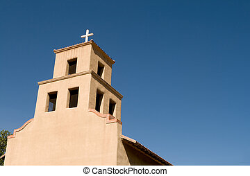 Santaurio De Guadalupe Mission Church Santa Fe, New Mexico