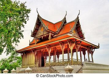 Santi Chai Prakan Pavilion in Bangkok, Thailand - Pavilion...