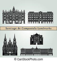 Santiago de Compostela Landmarks - Santiago de Compostela...