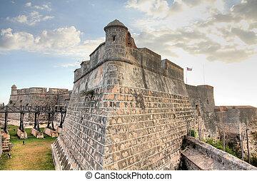 Santiago de Cuba - famous San Pedro de la Roca Castle....