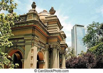 Santiago fo Chile - Office buildings in Santiago, Chile