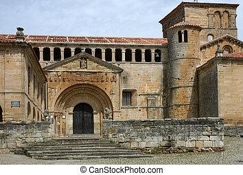 santillana, -, historyczny, kościół