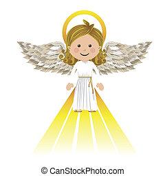 santo, angel de la guarda