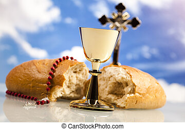 santo, comunión