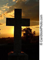 santo, cruz