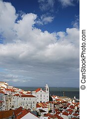 Santo Estevao church in Lisbon
