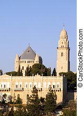 santo, iglesia, en, jerusalén