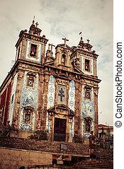 santo, ildefonso, porto, ポルトガル, 教会