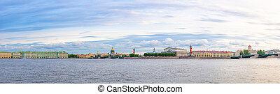 santo, leningrado, panorama, petersburg