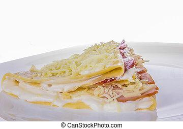 santoreggia, formaggio, carne, frittella, secco