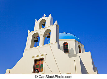 santorini, 教会, (oia), ギリシャ