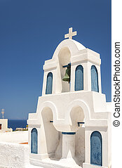 Santorini Bell Tower in Oia