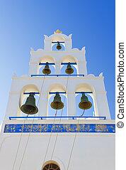 Santorini belltower (Oia), Greece