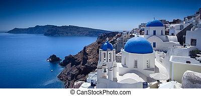 Santorini Blue
