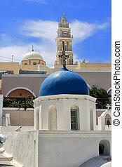 Santorini church Greece
