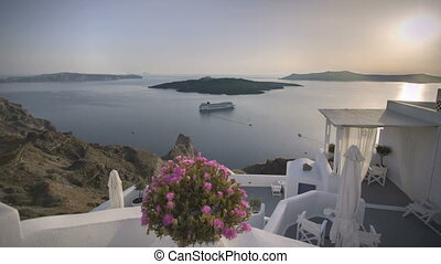 Santorini Fira Sunset