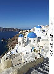 Santorini Greece Oia Church Dome