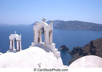 santorini, iglesias, 3